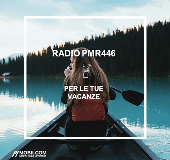 RADIO PMR446: COMUNICAZIONI RADIO IN FREQUENZA LIBERA
